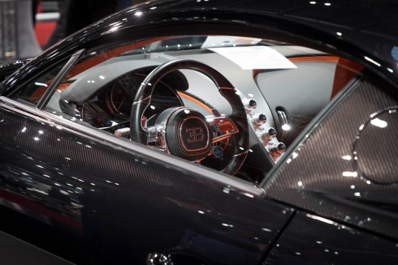 Bugatti Chiron Cockpit © Reed Exhibitions Wien/Andreas Kolarik