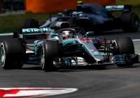 Lewis Hamilton startet aus der Poleposition © Daimler AG