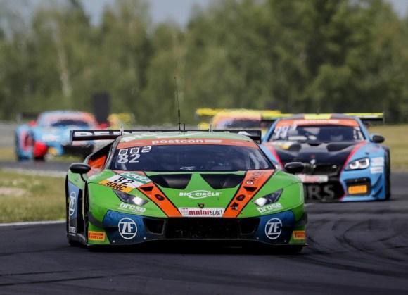 Rolf Ineichen/Franck Perera holten Punkte für das GRT Grasser Racing Team © ADAC Motorsport