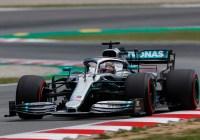Lewis Hamilton dominierte in Barcelona © Daimler AG
