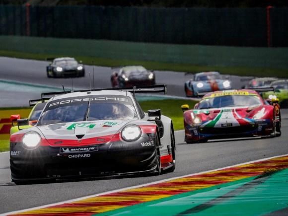 Richard Lietz auf dem Weg zum WM-Titel © Porsche AG