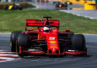 Sebastian Vettel nach Strafe nur auf Rang zwei © Ferrari