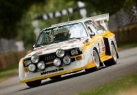 Rallye-Legende Walter Röhrl im Audi Sport quattro S1 - © Audi AG