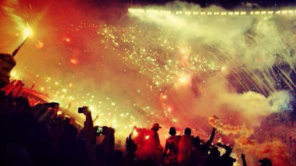 Boca juniors River Plate fans