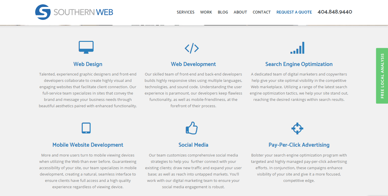 Southern Web Group Reviews