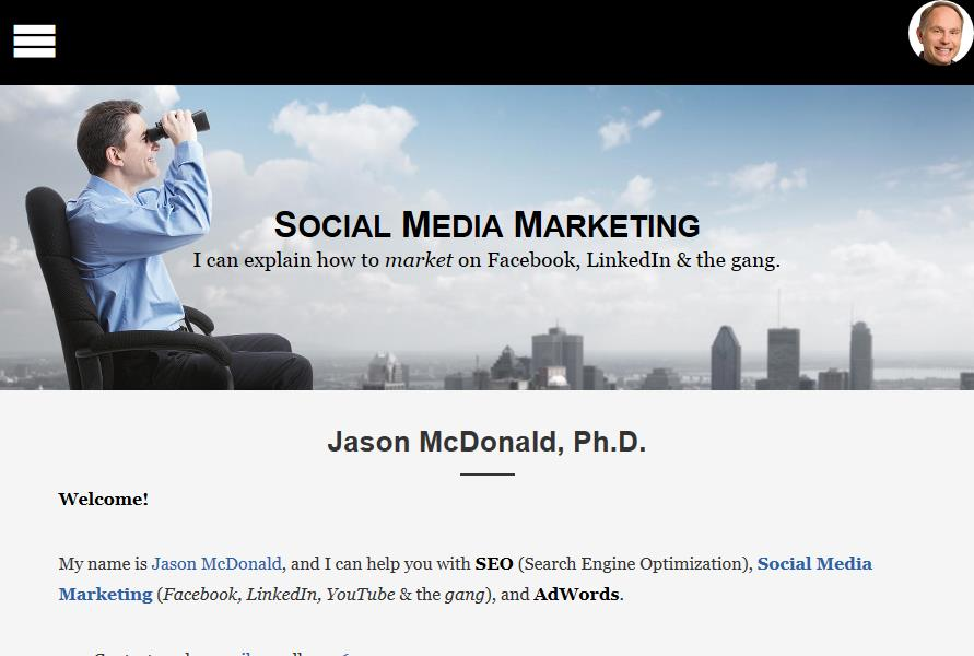 Jason McDonald SEO Consulting Agency Reviews