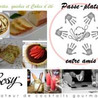 Passe-plats entre amis #2 – Tartes, Quiches et Cakes