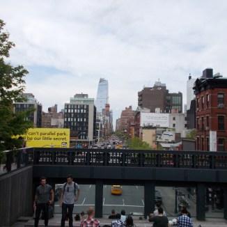 un bout de la High Line