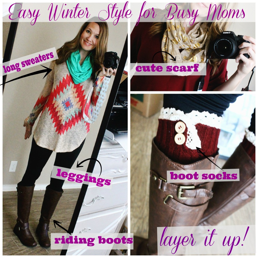 Winter Style for Busy Moms Evolve Boutique San Antonio and Online!