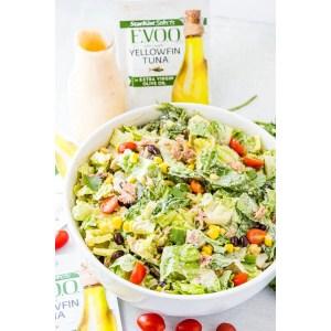 Fabulous Refreshing Salad Mcdonald S Southwest Salad Mcdonald S Southwest Salad Recipe Chopped Salad Southwest Tuna Chopped Salad Crisp