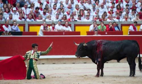 Francisco Marco. Pamplona. 8 juillet 2014