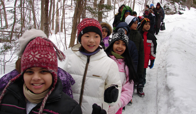 kids winter outreach