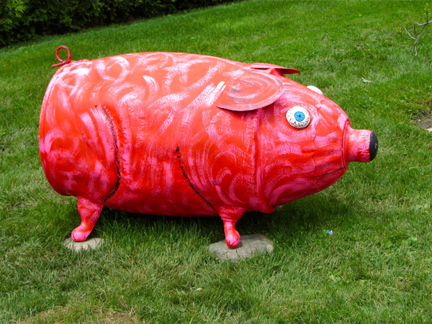 piggy folk art