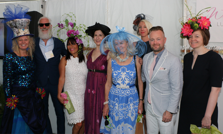 hat winners and judges