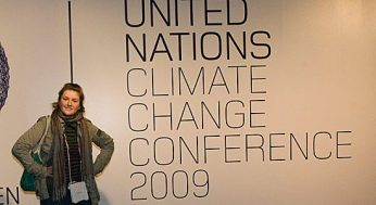 Eco-journalist Emily Hunter attended the Copenhagen climate summit in December.