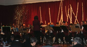 The East York Orchestra opened up the Rouge Valley Health System Foundation's fashion show on November 7th.