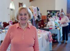 Norma Campbell, co-ordinator of the craft group at the church, said the Spring Sale is usually very successful. Last year, they brought in roughly $3,000, according to Campbell, with profits going directly to the church.