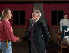 Jack Kipp (Alex Bortoluzzi, left) is reunited with The Great Prospero (Jeremy Henson, right)