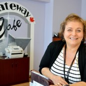 Diana Gatti is the divisional coordinator for Gateway Cafe. It is one of the employment programs connected to the Scarborough Neighbourhood Community Centre.
