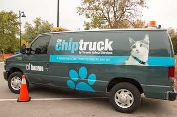 The city of Toronto launched the chip truck in September 2012.