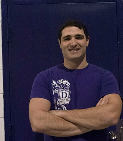"""Travis Stirrat, the gym owner and program developer. """"Our program is young but it has a well written program,"""" he said."""
