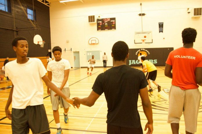 BTB Prep exemplifies sportsmanship after every play in practice.