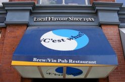 #4 C'est What, 67 Front St. Since 1988 they have served local craft beers. With 42 drafts and located in a old cellar to make you feel like your drinking in a time machine to 19th century. With pool tables and good food, it's the second-ranked craft beer bar on the Before Last Call blog.