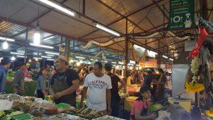 Vendors at Phuket Sunday Night Market Thailand