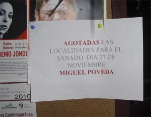 """Agotadas las localidades para Miguel Poveda """"Flamenco"""""""