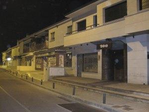 Discoteca Sala El 100, frente a la estación de Torrelodones