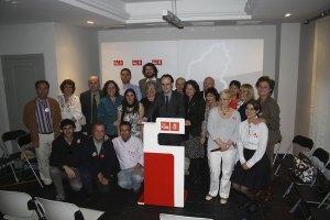 Candidatos del PSOE de Torrelodones para las elecciones del 22 de mayo