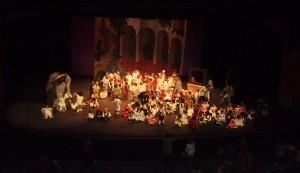 Los colegios de Torrelodones celebran la Navidad en el Teatro Bulevar