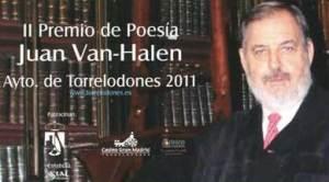 II Premio de Poesía Juan Van-Halen - Torrelodones 2011