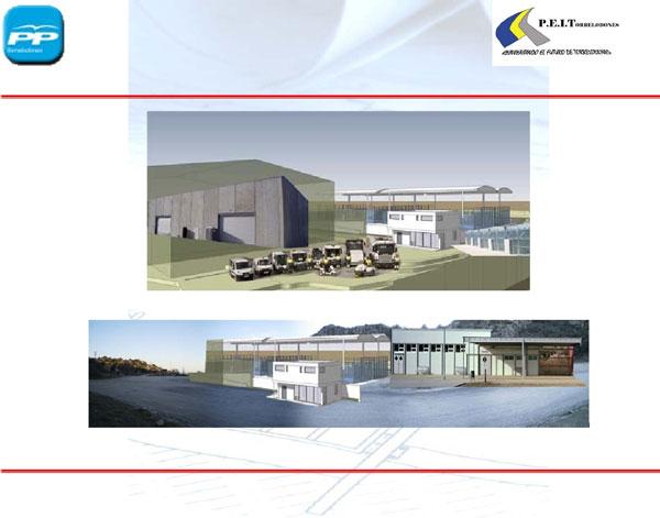 Infografias de las futuras instalaciones propuestas