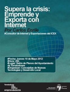 Conferencia de Carlos Enrile. Supera la Crisis: Emprende y Exporta por Internet