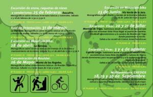 Montaña, Deporte, y Medio Ambiente