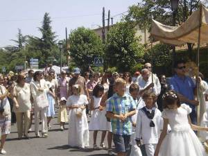 Corpus Christi en la colonia de Torrelodones, 2011