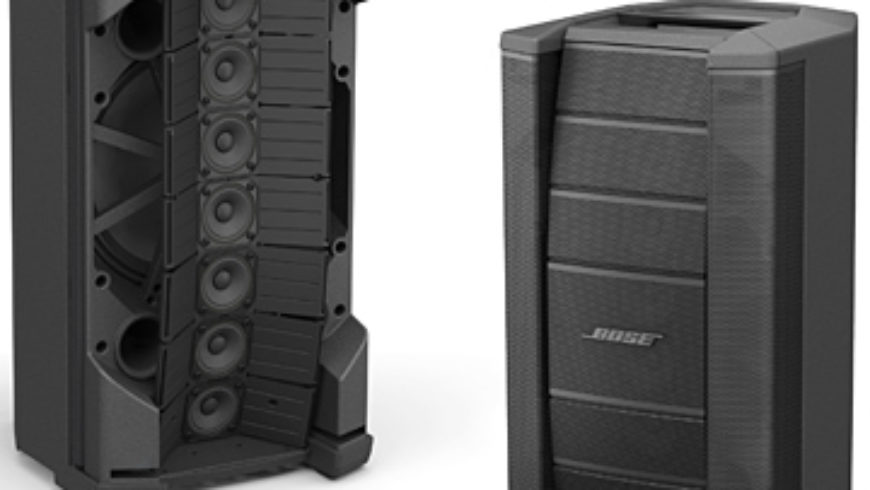 Bose Debuts Flexible-Array PA Loudspeaker and Matching Subwoofer