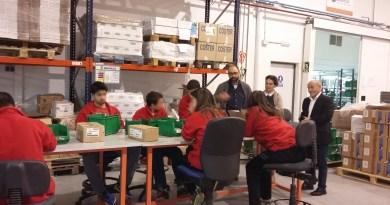 Los alumnos del CEE Squema realizan sus prácticas en Mondeco