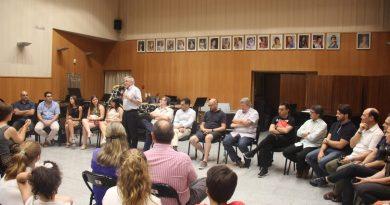 Semana de perfeccionamiento y aprendizaje musical con el FORUMT de la Unió Musical de Torrent