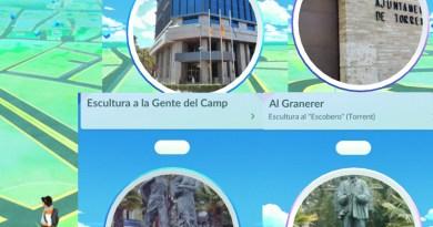 Los monumentos torrentinos se convierten en Poké Paradas