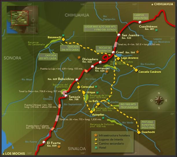 el chepe train route