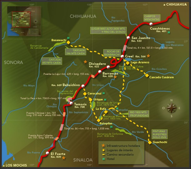 el chepe train route