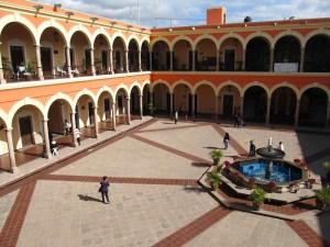 palacio dentro