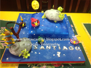 Tortas decoradas de Angry Birds (2)