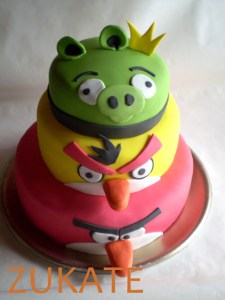 Tortas decoradas de Angry Birds (3)