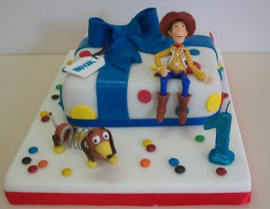 11 Hermosas tortas decoradas de Woody (10)