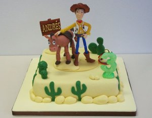 11 Hermosas tortas decoradas de Woody (7)