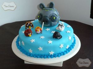 10 originales tortas decoradas de Star Wars (3)