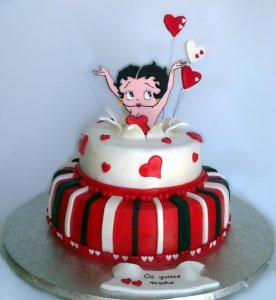 10 Hermosas tortas decoradas de Betty Boop (10)